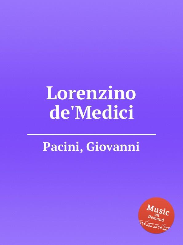 G. Pacini Lorenzino de.Medici g pacini bondelmonte