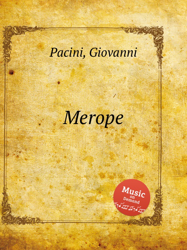 G. Pacini Merope aaron hill merope