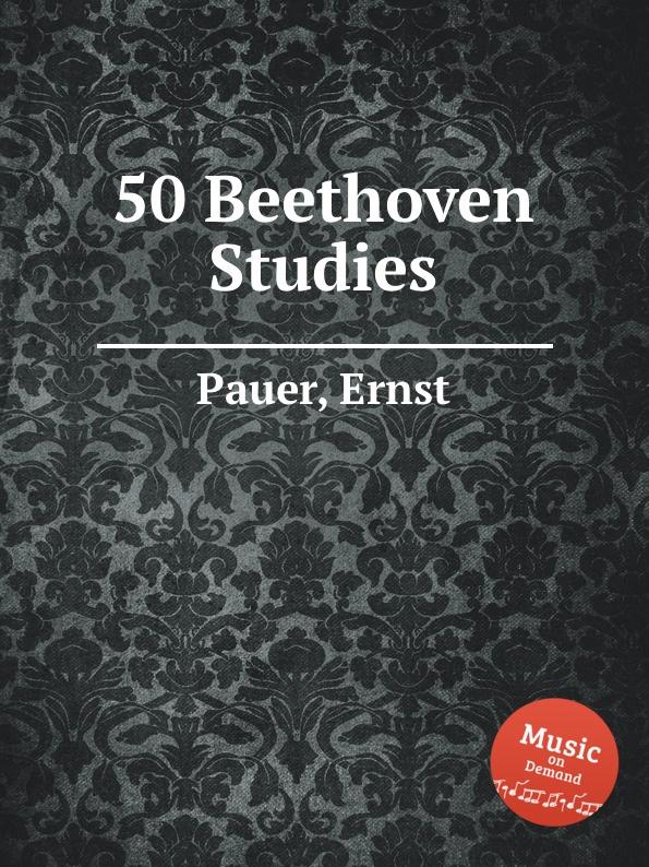 лучшая цена E. Pauer 50 Beethoven Studies