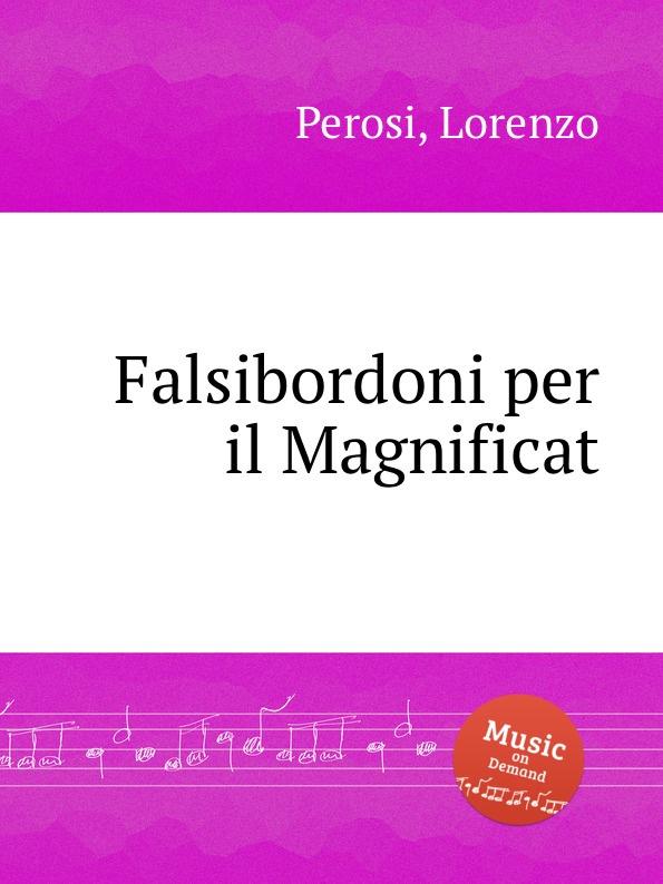 L. Perosi Falsibordoni per il Magnificat l perosi magnificat