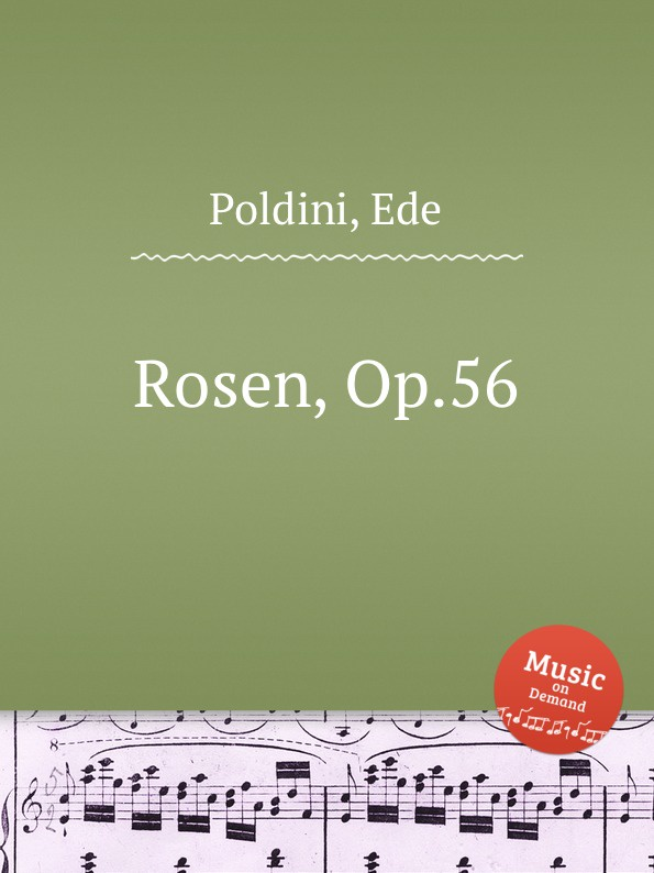 E. Poldini Rosen, Op.56 e poldini fantasie op 35