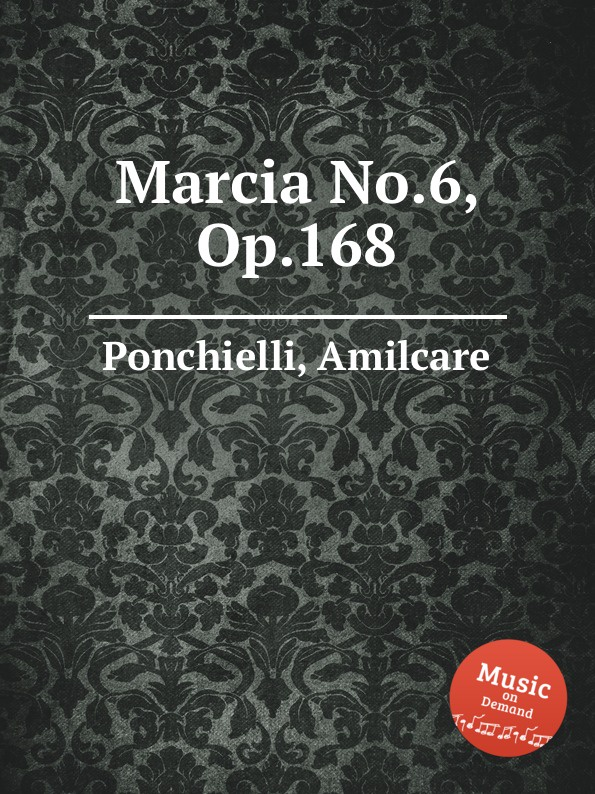 A. Ponchielli Marcia No.6, Op.168 6 speed cable band switch 25f