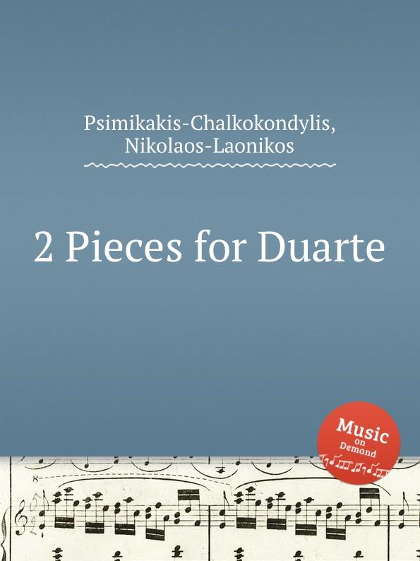 N. Psimikakis-Chalkokondylis 2 Pieces for Duarte n psimikakis chalkokondylis atlantis in a nutshell