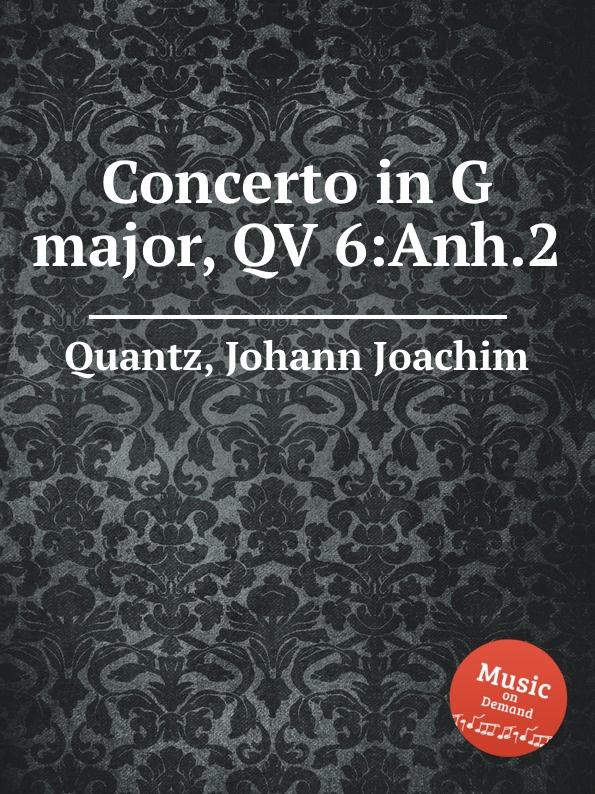 J.J. Quantz Concerto in G major, QV 6:Anh.2 sufé firenze брюки капри