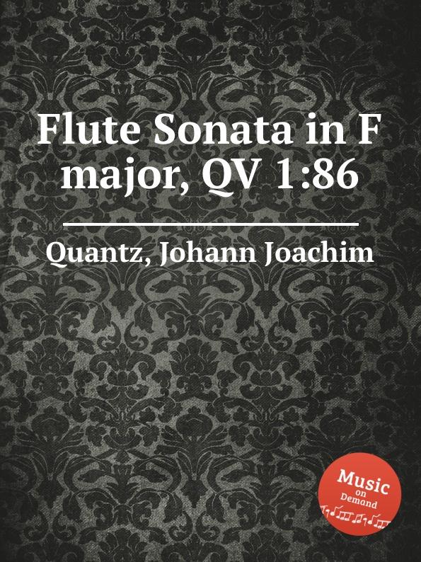цена J.J. Quantz Flute Sonata in F major, QV 1:86 в интернет-магазинах