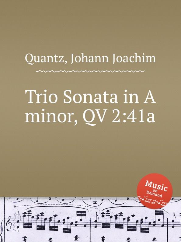 J.J. Quantz Trio Sonata in A minor, QV 2:41a недорого