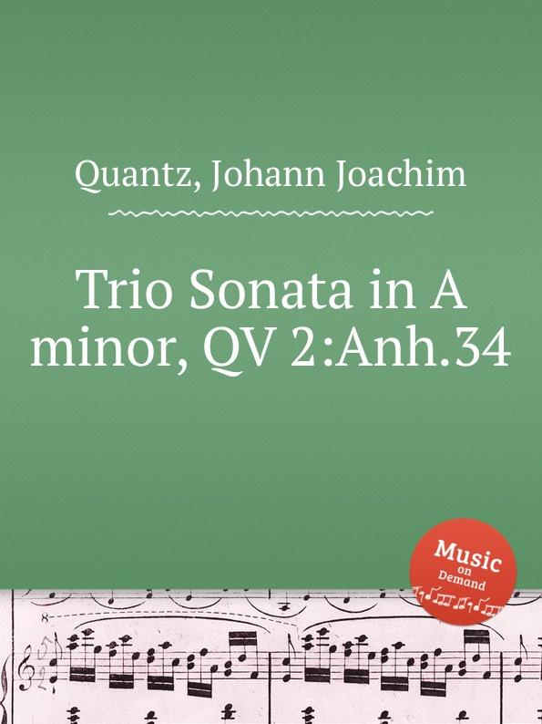 J.J. Quantz Trio Sonata in A minor, QV 2:Anh.34 недорого