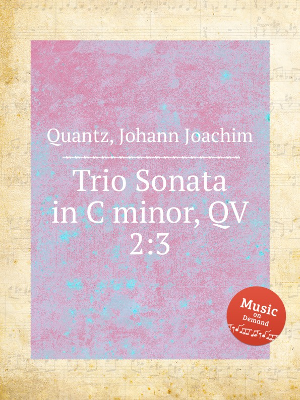 J.J. Quantz Trio Sonata in C minor, QV 2:3