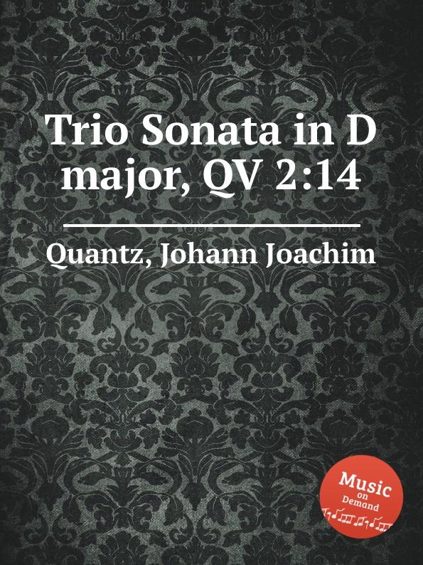 J.J. Quantz Trio Sonata in D major, QV 2:14