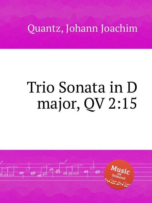 J.J. Quantz Trio Sonata in D major, QV 2:15 недорого