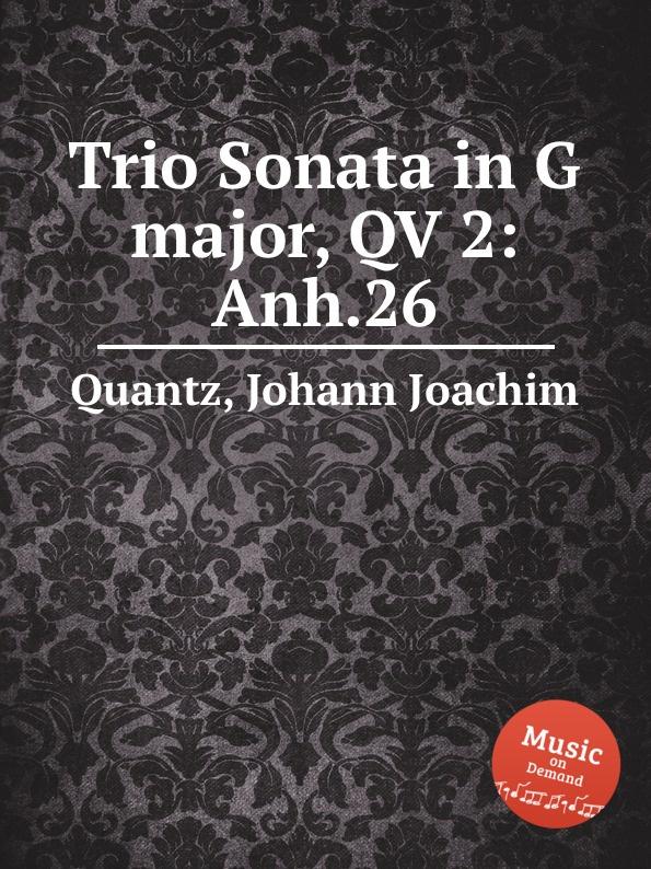 цена J.J. Quantz Trio Sonata in G major, QV 2:Anh.26 в интернет-магазинах