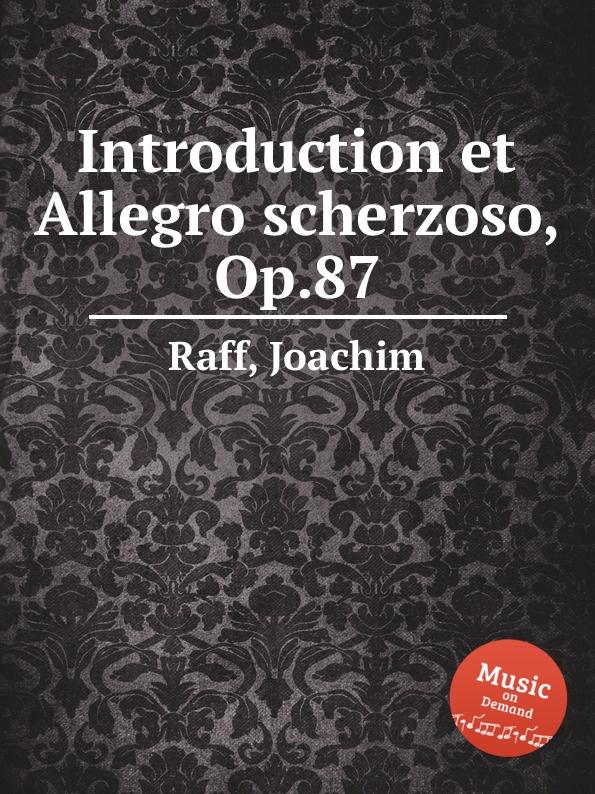 J. Raff Introduction et Allegro scherzoso, Op.87 j raff valse impromptu a la tyrolienne woo 28