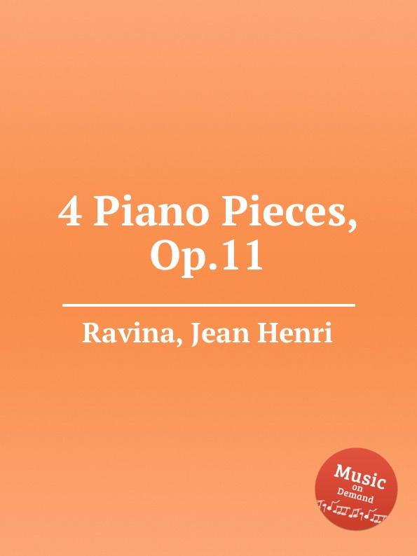 J.H. Ravina 4 Piano Pieces, Op.11