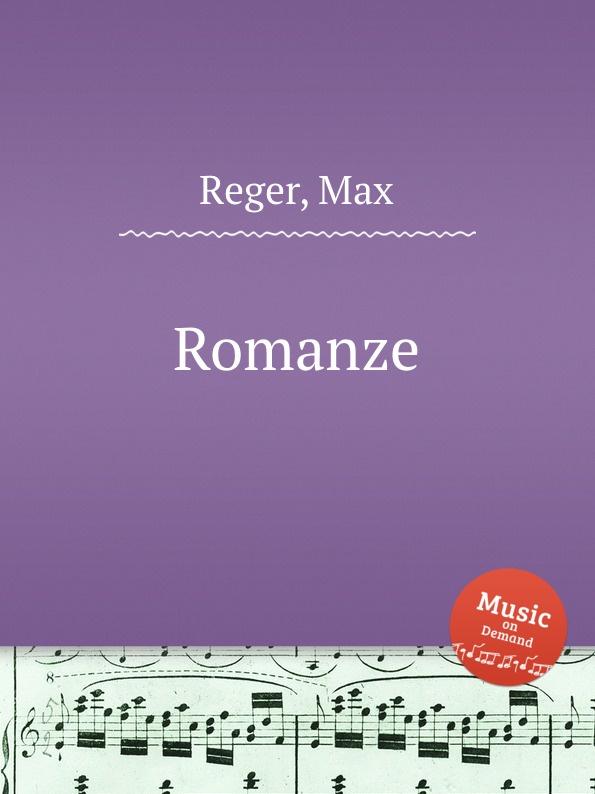 цена M. Reger Romanze в интернет-магазинах