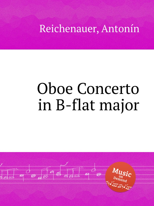 цена A. Reichenauer Oboe Concerto in B-flat major в интернет-магазинах
