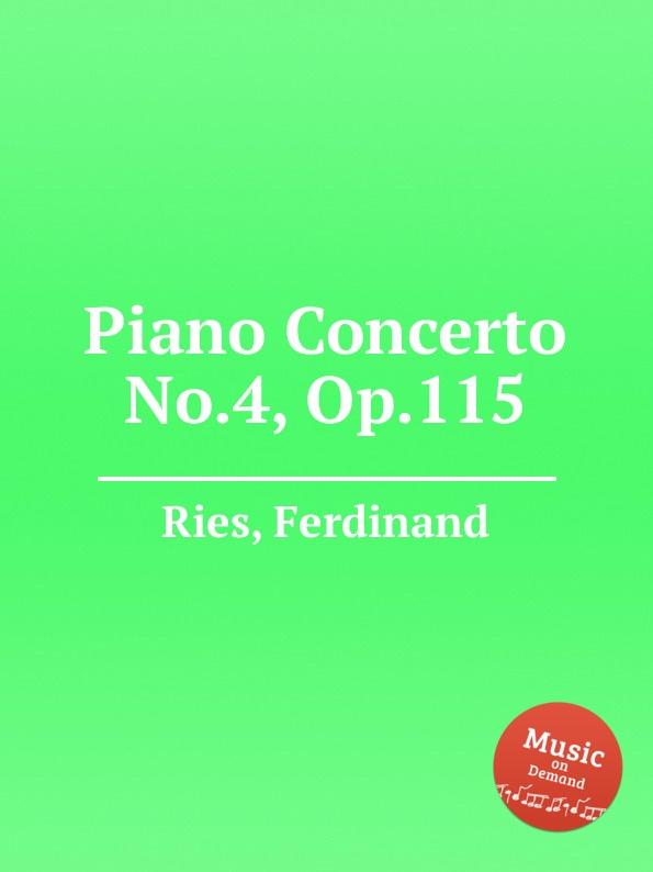 лучшая цена F. Ries Piano Concerto No.4, Op.115