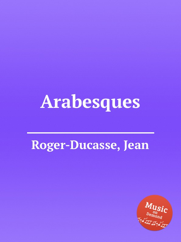 лучшая цена J. Roger-Ducasse Arabesques