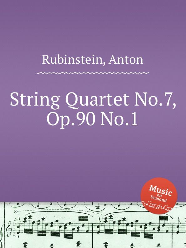 лучшая цена A. Rubinstein String Quartet No.7, Op.90 No.1