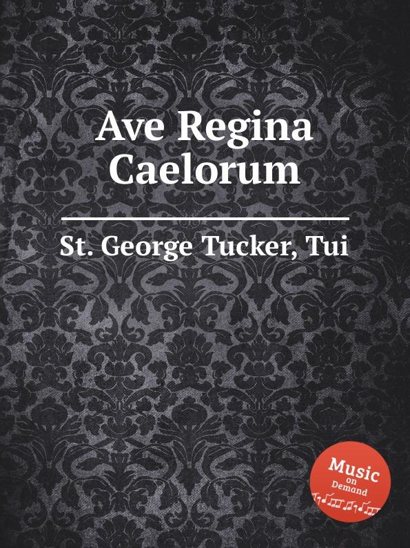 St. T.G. Tucker Ave Regina Caelorum st t g tucker ave verum for piano