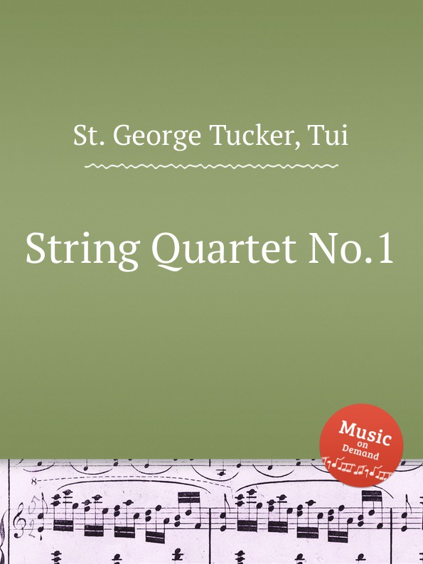 лучшая цена St. T.G. Tucker String Quartet No.1