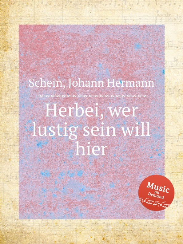J.H. Schein Herbei, wer lustig sein will hier mixed item for will casimiro