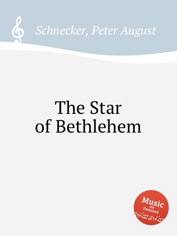 P.A. Schnecker The Star of Bethlehem bethlehem star крест с распятием