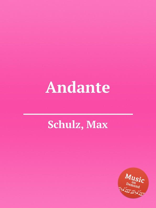 M. Schulz Andante m klein andante de salon