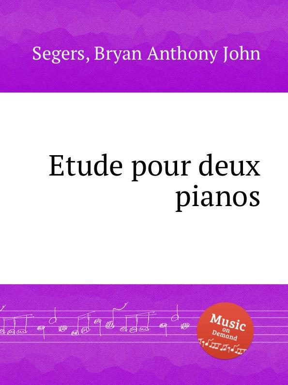 B.A.J. Segers Etude pour deux pianos t lack sonatine pour deux pianos op 129