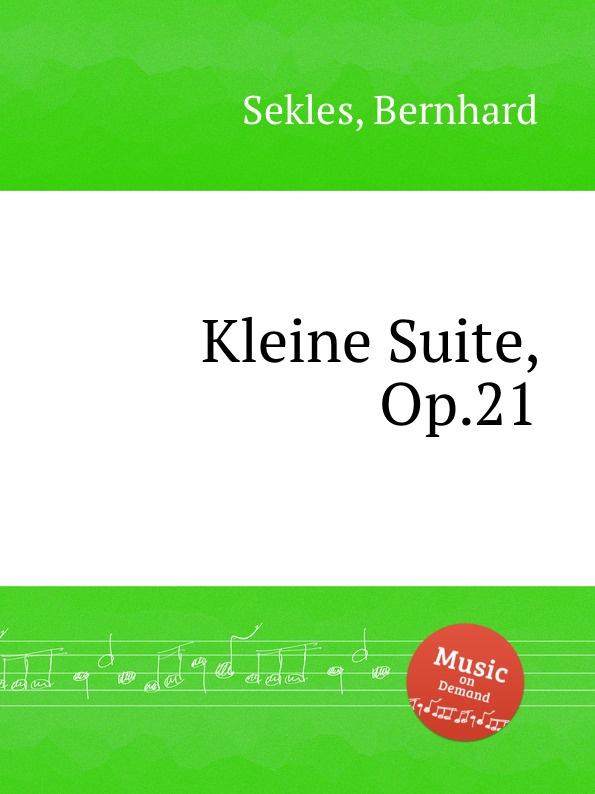 лучшая цена B. Sekles Kleine Suite, Op.21