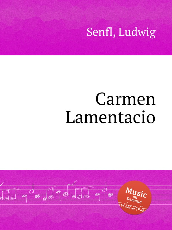 L. Senfl Carmen Lamentacio l senfl ob gluck hat neyd