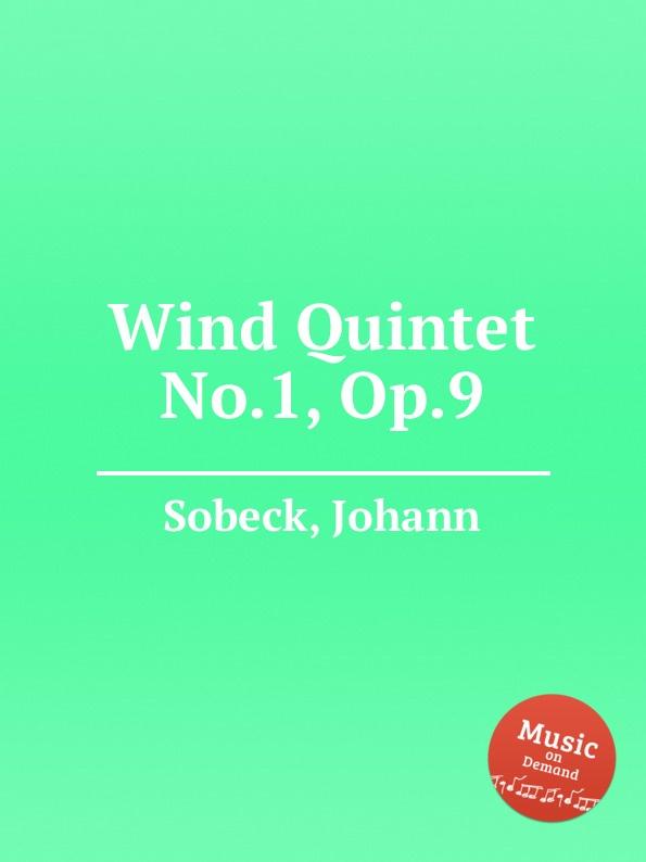 лучшая цена J. Sobeck Wind Quintet No.1, Op.9