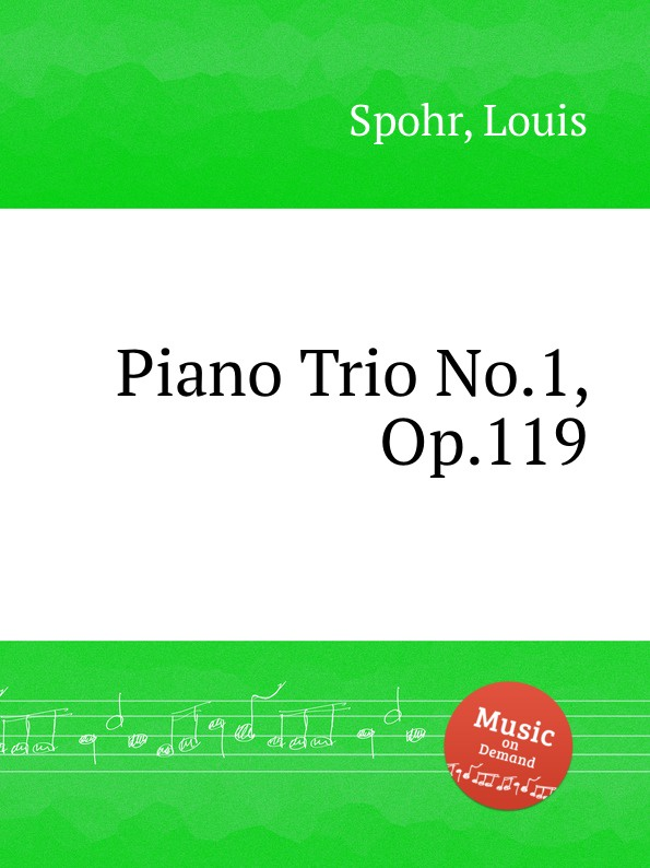 где купить L. Spohr Piano Trio No.1, Op.119 по лучшей цене