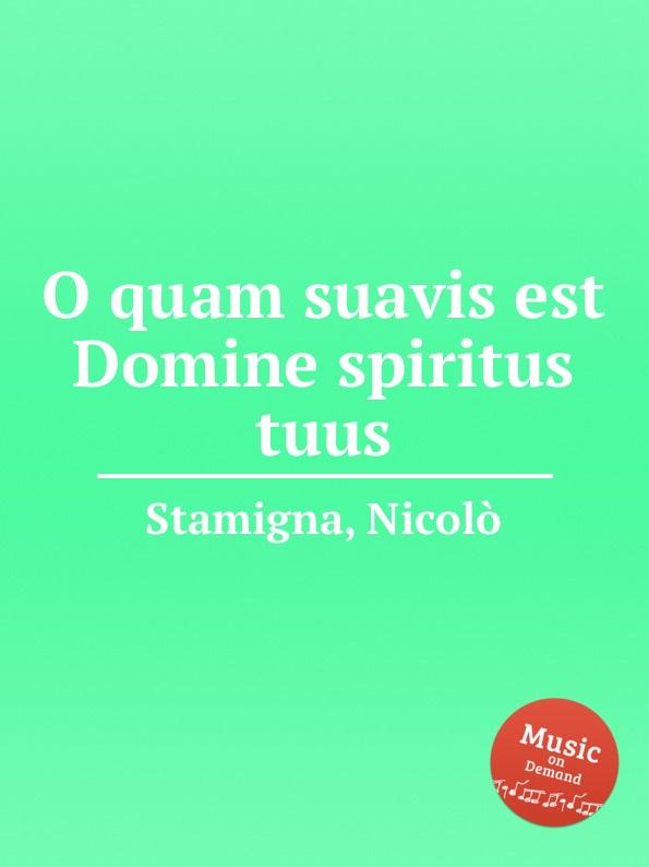 N. Stamigna O quam suavis est Domine spiritus tuus bruce springsteen bruce springsteen human touch 2 lp