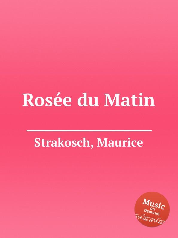 M. Strakosch Rosеe du Matin стоимость