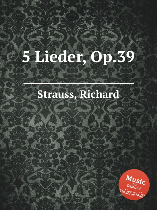 R. Strauss 5 Lieder, Op.39 футболка wearcraft premium printio holy bible