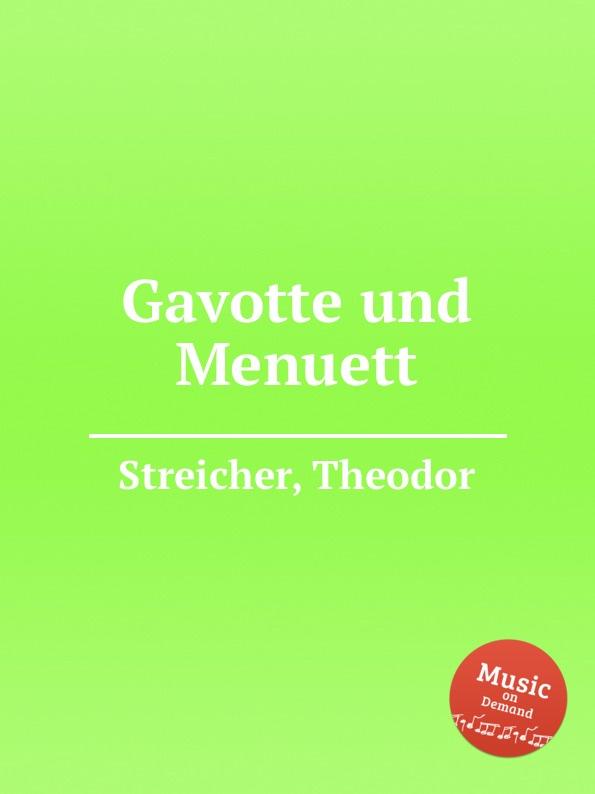 T. Streicher Gavotte und Menuett f neruda gavotte for cello op 54