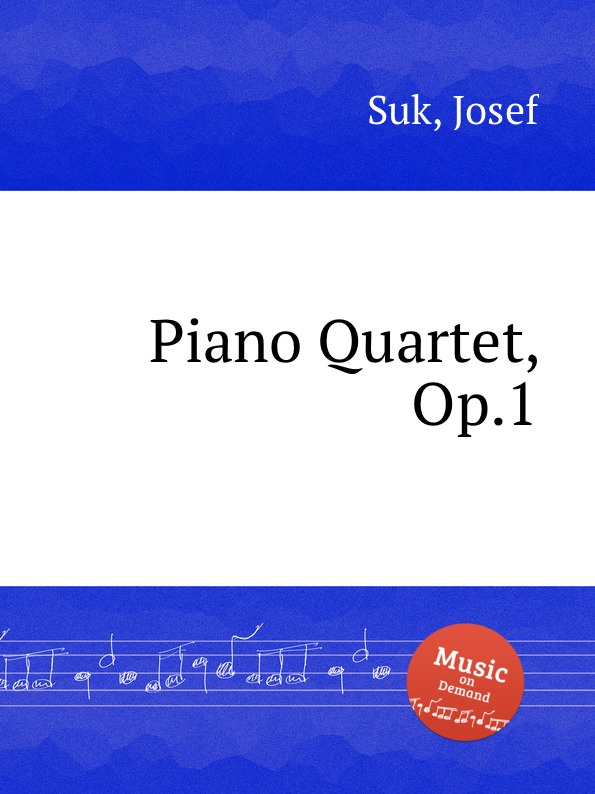 J. Suk Piano Quartet, Op.1 цена