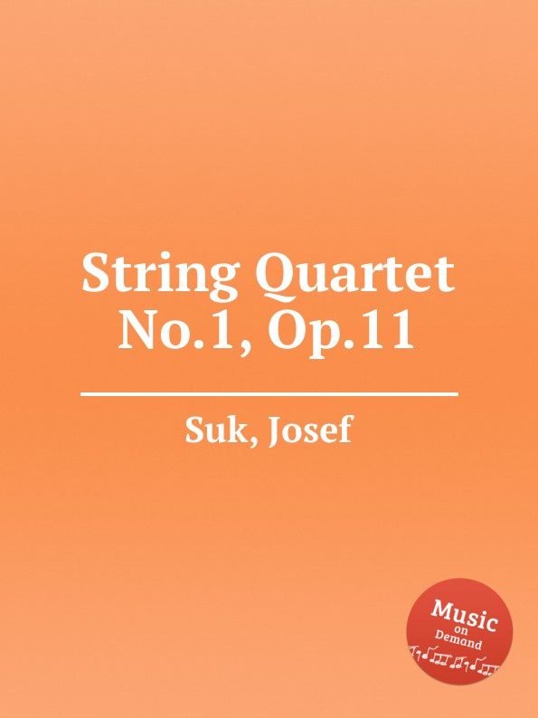 J. Suk String Quartet No.1, Op.11 недорого