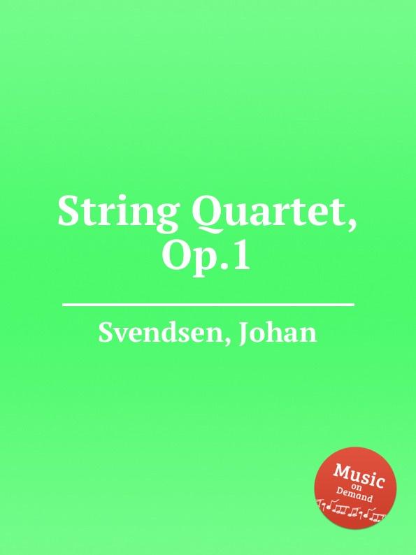 лучшая цена J. Svendsen String Quartet, Op.1