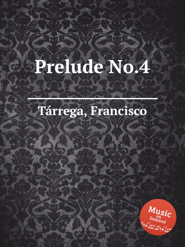 F. Tаrrega Prelude No.4 недорого