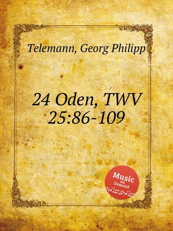 Г. Ф. Телеман 24 оды, TWV 25:86-109