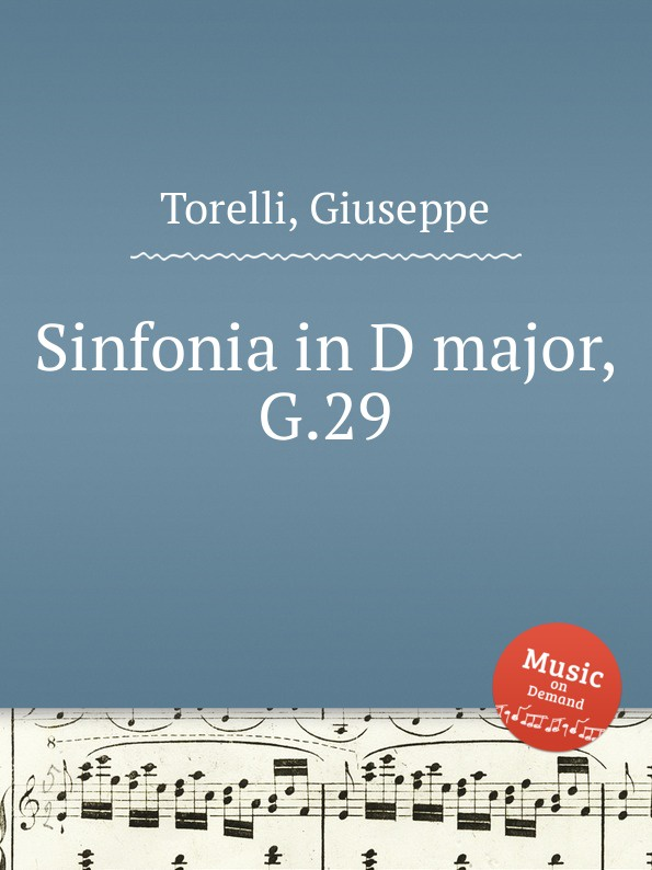 цена G. Torelli Sinfonia in D major, G.29 в интернет-магазинах