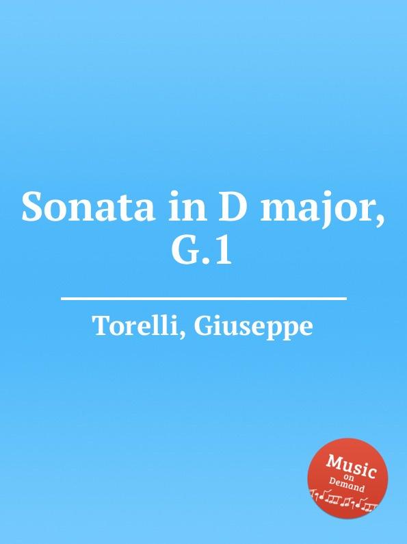 лучшая цена G. Torelli Sonata in D major, G.1