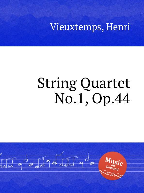 H. Vieuxtemps String Quartet No.1, Op.44 h vieuxtemps viola sonata op 36