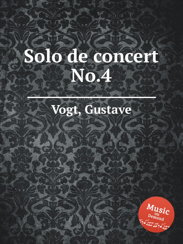 G. Vogt Solo de concert No.4