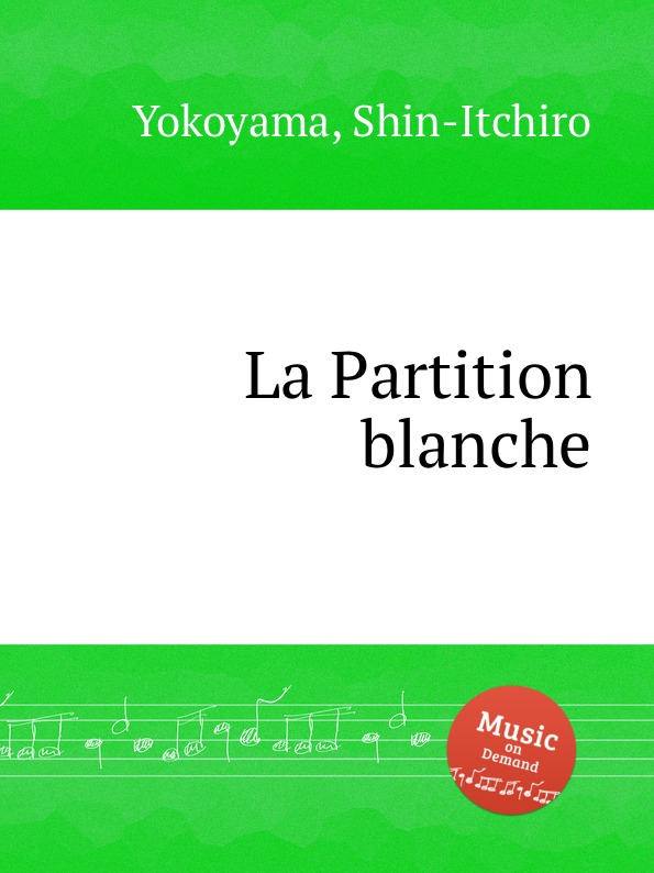 S. Yokoyama La Partition blanche s yokoyama la fleur d asie for cello and piano