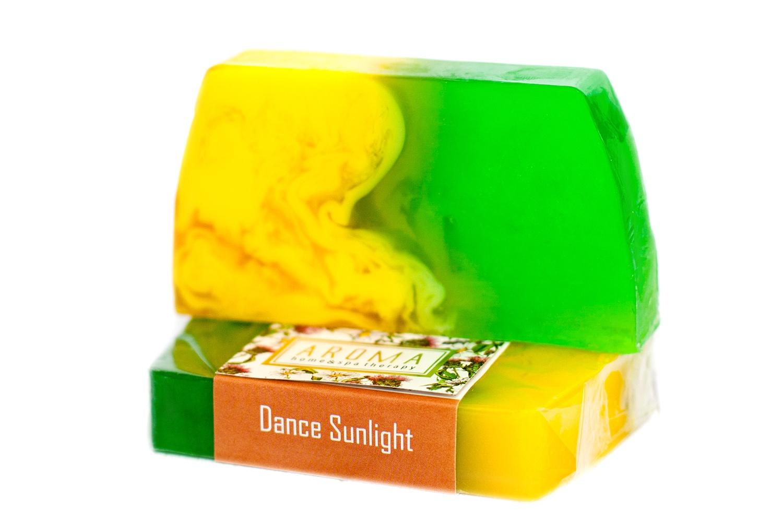 Мыло косметическое Aroma Home & Spa Therapy Мыло ручной работы «Солнечные Танцы» недорго, оригинальная цена