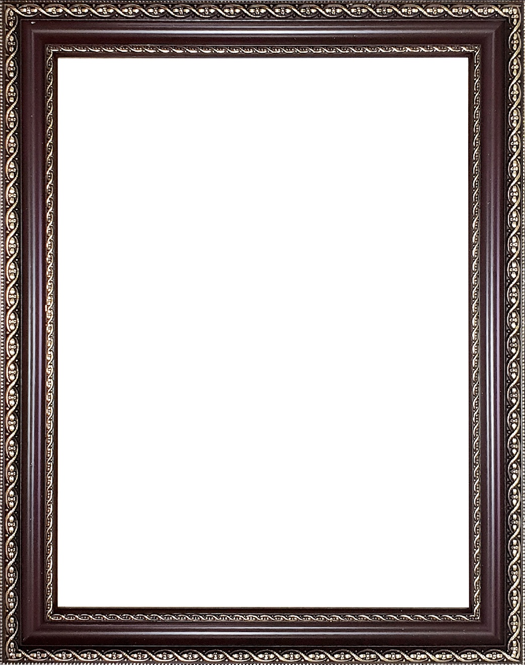 рамка для фото коричневая выбрали фотографию кликнули