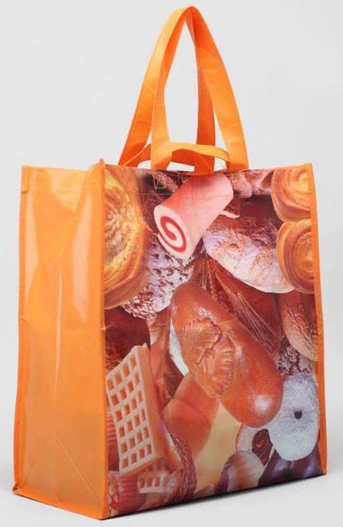 Сумка хозяйственная женская Snow, OZ356, оранжевый