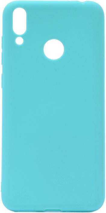 Чехол для сотового телефона GOSSO CASES для Huawei Honor 8C Soft Touch, 199026, бирюзовый чехол для сотового телефона gosso cases для huawei honor 7x soft touch 201910 черный